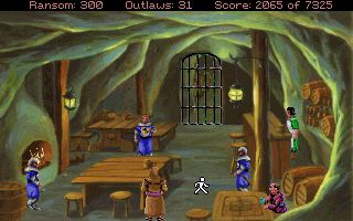 Conquistas de Longbow: A Lenda de Robin Hood  - Screenshots do jogo para Symbian. Jogabilidade do Conquests of the Longbow: The Legend of Robin Hood.