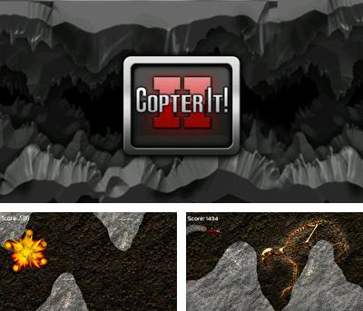 In addition to the sis game Moto X Mayhem for Symbian phones, you can also download Copter It! 2 for free.