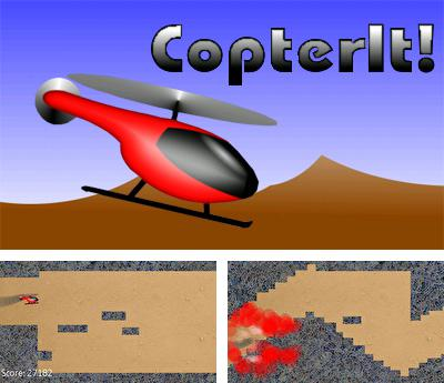 In addition to the sis game Diamonds Capture for Symbian phones, you can also download CopterIt for free.
