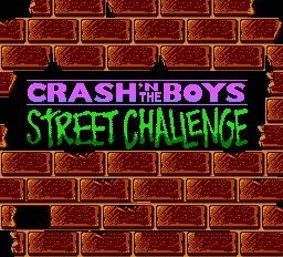 Crash and the Boys: Street Challenge
