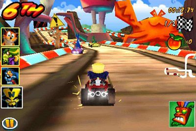 Play Crash bandicoot kart for Symbian. Download top sis games for free.
