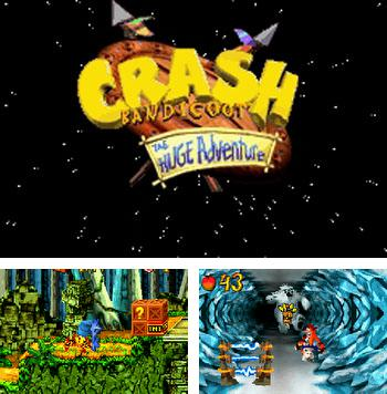 In addition to the sis game Contre Jour for Symbian phones, you can also download Crash Bandicoot The Huge Adventure for free.