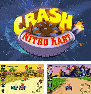 In addition to the sis game Phil of the future for Symbian phones, you can also download Crash Nitro Kart for free.