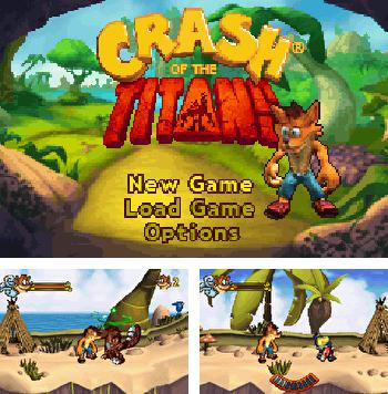 In addition to the sis game Mucha Lucha: Mascaritas of the lost code for Symbian phones, you can also download Crash of the Titans for free.