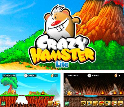 In addition to the sis game Draw War Save Yer Booty for Symbian phones, you can also download Crazy hamster for free.