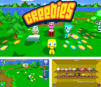 In addition to the sis game 3D Moto Racer for Symbian phones, you can also download Creebies for free.