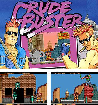 In addition to the sis game Pitfall The Lost Expedition for Symbian phones, you can also download Crude buster for free.
