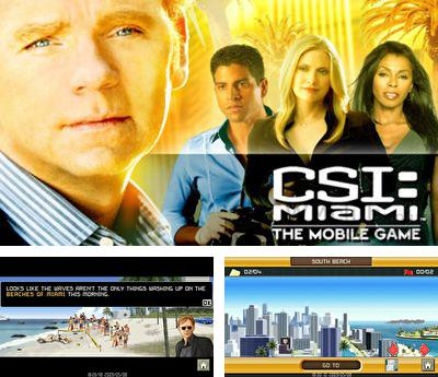 In addition to the sis game Brothers in arms 3 hell's highway for Symbian phones, you can also download CSI Miami HD for free.