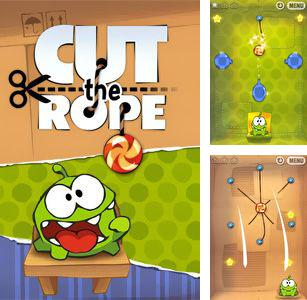 In addition to the sis game Antarctic Adventure for Symbian phones, you can also download Cut the Rope for free.