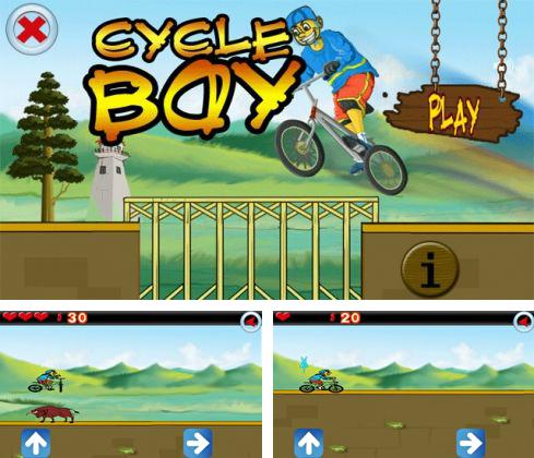 In addition to the sis game Terminator 2: The arcade game for Symbian phones, you can also download CycleBoy for free.