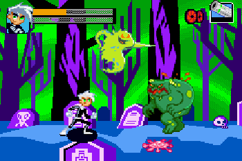 Danny Phantom: The Ultimate Enemy - Symbian game screenshots. Gameplay Danny Phantom: The Ultimate Enemy.