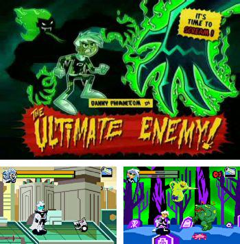 Además del juego sis La lombriz Jim para teléfonos Symbian, también puedes descargarte gratis Danny Fantasma: El Enemigo Final, Danny Phantom: The Ultimate Enemy.