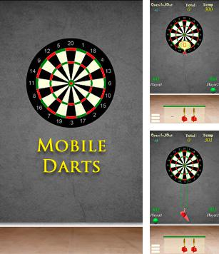 In addition to the sis game Mazes of fate for Symbian phones, you can also download Darts for free.