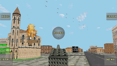 Defenda Londres 3D  - Screenshots do jogo para Symbian. Jogabilidade do Defend London 3D.