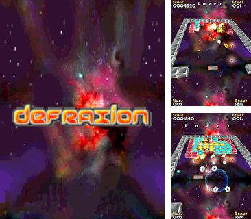 In addition to the sis game Solitaire touch for Symbian phones, you can also download Defraxion for free.
