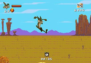 Desert Demolition: Starring Road Runner and Wile E. Coyote - Symbian game screenshots. Gameplay Desert Demolition: Starring Road Runner and Wile E. Coyote.
