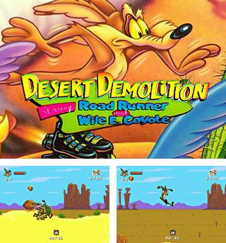 Zusätzlich zum sis-Spiel Kristall-Berg für Symbian-Telefone können Sie auch kostenlos Wüstendemolition mit Road Runner und Wile E. Coyote in Hauptrollen, Desert Demolition: Starring Road Runner and Wile E. Coyote herunterladen.