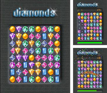 In addition to the sis game Police quest: In pursuit of the death angel for Symbian phones, you can also download Diamonds for free.
