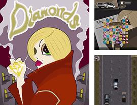 In addition to the sis game Frogger for Symbian phones, you can also download Diamonds 2 for free.