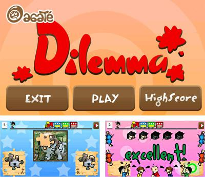 In addition to the sis game Tom Clancy's Splinter Cell for Symbian phones, you can also download Dilemma for free.