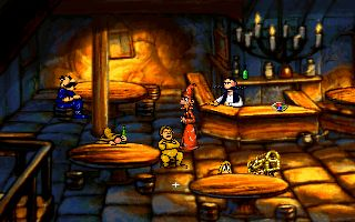Discworld - Symbian game screenshots. Gameplay Discworld.