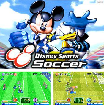 In addition to the sis game Megaman: Battle network. 4 Blue moon for Symbian phones, you can also download Disney sports: Football (Soccer) for free.