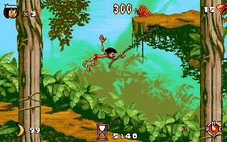 Jungle book download on games4win.