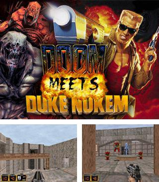 In addition to the sis game JetEx 2 for Symbian phones, you can also download Doom meets Duke for free.