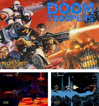 In addition to the sis game Barkley: Shut up and jam! 2 for Symbian phones, you can also download Doom troopers: Mutant chronicles for free.
