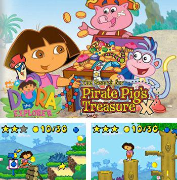 Alem do jogo sis Tronco Pesado para celulares Symbian, voce tambem pode baixar Dora viajante: A busca de um tesouro dos piratas-porco, Dora the explorer: The search for pirate pig's treasure gratuitamente.