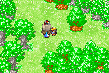Dragon quest monsters: Caravan Heart - Symbian game screenshots. Gameplay Dragon quest monsters: Caravan Heart.