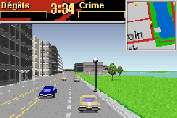 Driver 2 Advance - Symbian game screenshots. Gameplay Driver 2 Advance.