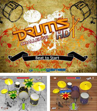 In addition to the sis game Metal Bluster 2 for Symbian phones, you can also download Drums challenge for free.