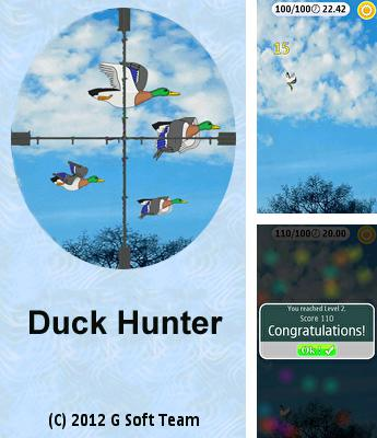 In addition to the sis game Robotech: The Macross saga for Symbian phones, you can also download Duck Hunter for free.