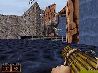 Duke Nukem 3D NIB Edição do Pesadelo   - Screenshots do jogo para Symbian. Jogabilidade do Duke Nukem 3D NIB the nightmare edition.