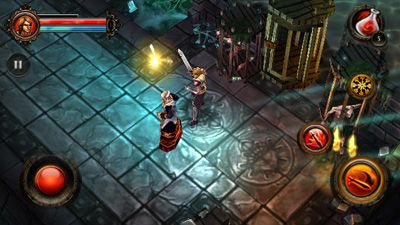 Play Dungeon Hunter 2 HD for Symbian. Download top sis games for free.