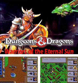 Además del juego sis Homínido extraterrestre  para teléfonos Symbian, también puedes descargarte gratis Mazmorras y Dragones: Guerreros del sol eterno, Dungeons & dragons: Warriors of the eternal sun.