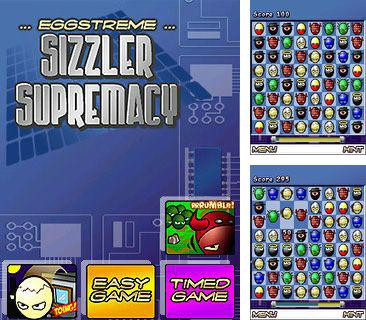 In addition to the sis game Pokemon: Emerald Version for Symbian phones, you can also download Eggstreme 3 Sizzler Supremacy for free.