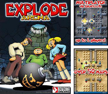 In addition to the sis game Asterix and the power of the gods for Symbian phones, you can also download Explode arena for free.