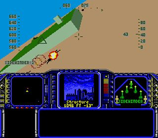 F-117 night storm - Symbian game screenshots. Gameplay F-117 night storm.