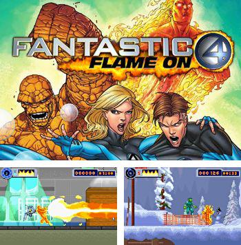 In addition to the sis game Angry Birds Seasons for Symbian phones, you can also download Fantastic 4: Flame on for free.