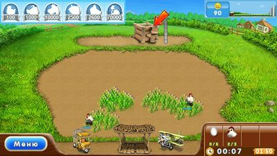 Play Farm Frenzy 2 for Symbian. Download top sis games for free.