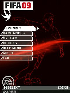 FIFA 2009 - Symbian game  FIFA 2009 sis download free for mobile phones