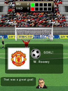 FIFA 2009 - Symbian game screenshots. Gameplay FIFA 2009.