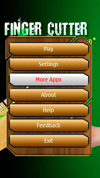 Finger Cutter Star download free Symbian game. Daily updates with the best sis games.