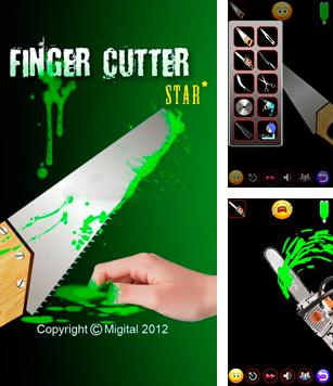 In addition to the sis game Todd's adventures in Slime World for Symbian phones, you can also download Finger Cutter Star for free.