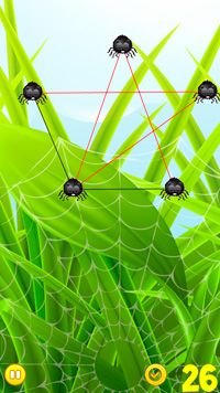 Play Frisky Spiders for Symbian. Download top sis games for free.