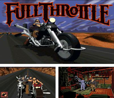In addition to the sis game SpongeBob Battle for Bikini Bottom for Symbian phones, you can also download Full Throttle for free.