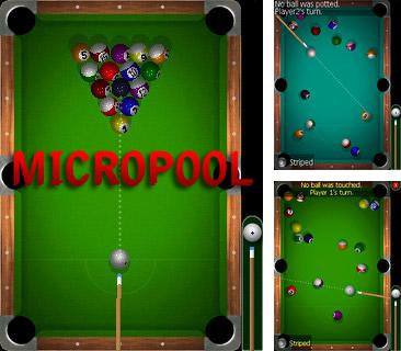 In addition to the sis game Brothers in arms 3 hell's highway for Symbian phones, you can also download Micro pool for free.