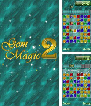 In addition to the sis game Real Football 2008 European Tournament for Symbian phones, you can also download Gem Magic 2 for free.